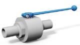 二通焊接式高壓球閥